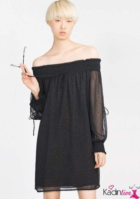 Zara Plumet Elbise Modelleri