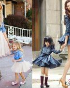 Anne Kız Elbise ve Kıyafet Kombinleri