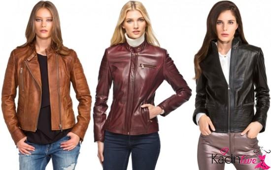 Sonbahar Kış Derimod Bayan Deri Giyim Koleksiyonu 2019-2019 88