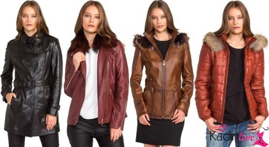 Sonbahar Kış Derimod Bayan Deri Giyim Koleksiyonu 2019-2019 3