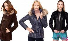 Sonbahar Kış Derimod Bayan Deri Giyim Koleksiyonu 2018-2019