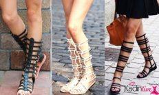 Gladyatör Sandalet Sokak Modası 2016