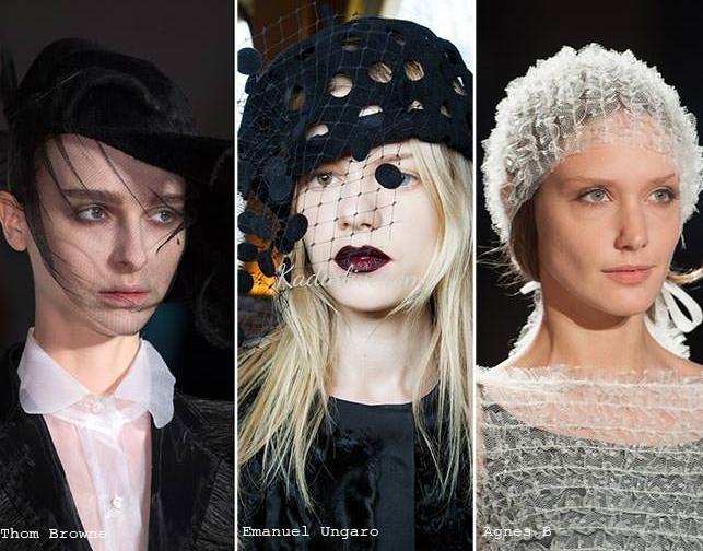 Peçe Şapka Trendi Sonbahar Kış