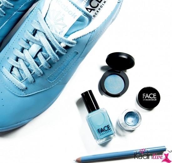 Reebok Buz Mavisi Spor Ayakkabı Modelleri