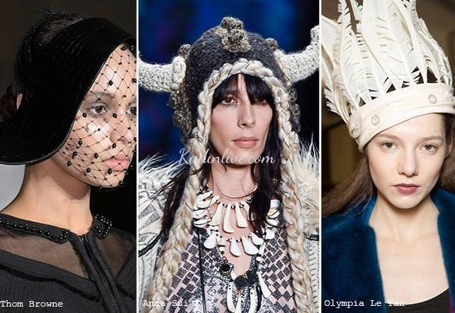 Sonbahar Kış Trendleri Sıra Dışı Şapka Modelleri