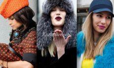 Kış Modası 2015-2016 Şapka Modelleri ve Trendleri