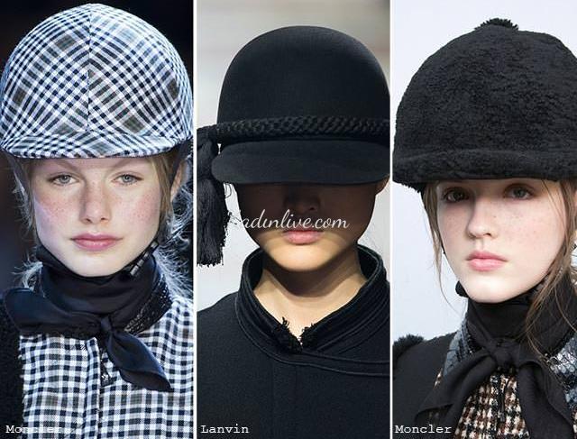 Sonbahar Kış Kask Şapka Modelleri