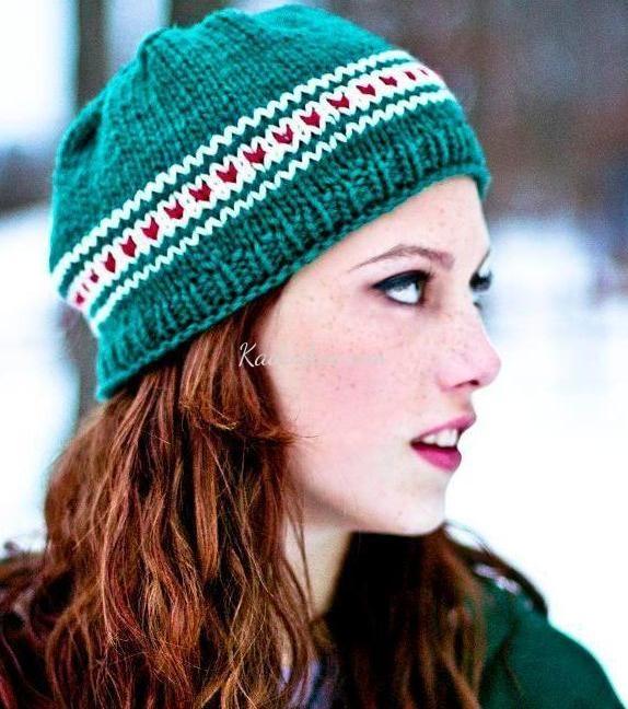 Çok Şık Yeşil Bayan Örgü Bere Şapka Modelleri