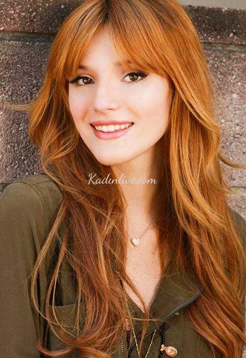 Bakır Kızıl Saç Rengi Kime Yakışır 2016