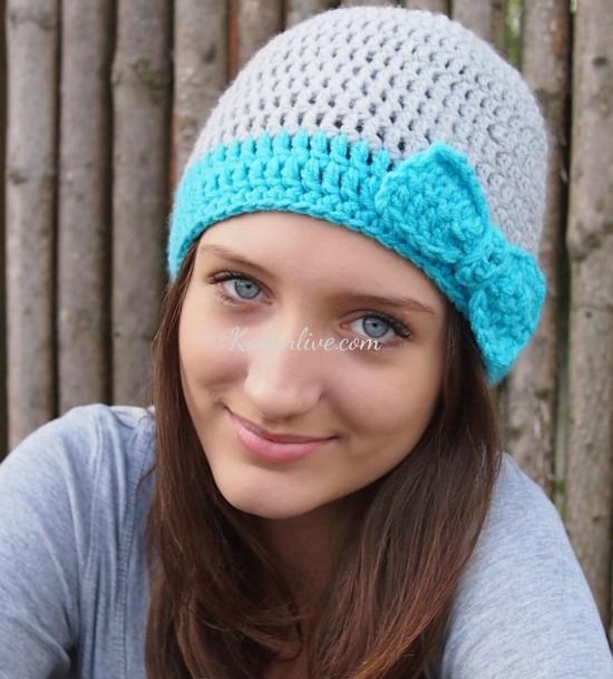 Bayan Örgü Şapka Modelleri Trend