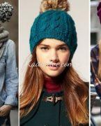 Sonbahar Kış 25+ Trend Bayan Örgü Şapka Modelleri 2018-2019