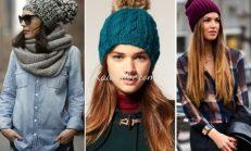 25+ Trend Bayan Örgü Şapka Modelleri 2016