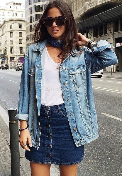 Boyfriend Jean Ceket Modeli Kadın