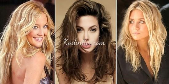 Dağınık Saç Modelleri 2016 Trendleri