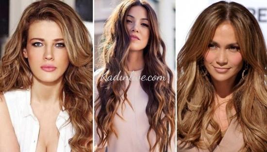 Hafif Dalgalı Saç Modelleri 2016 Trendleri