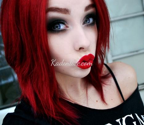 Kırmızı Kızıl Saç Rengi Kime Yakışır
