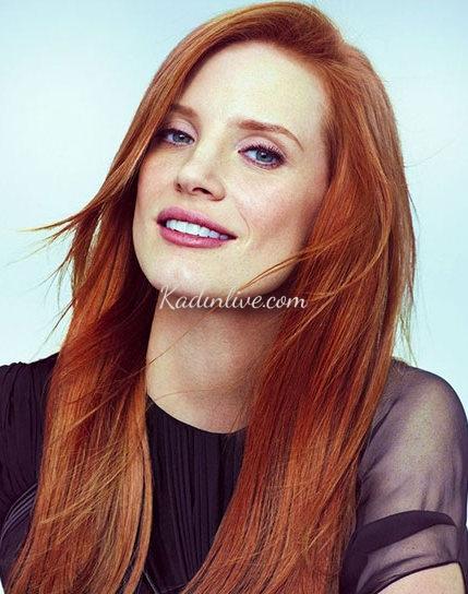 Kahverengi Kızıl Saç Rengi 2016 Trendy