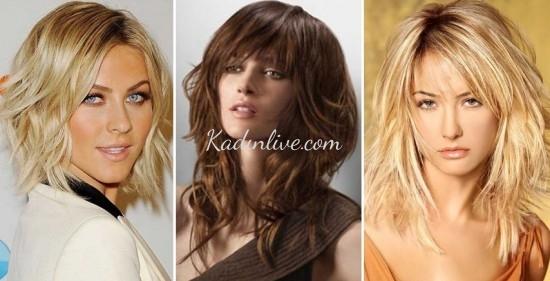 Katlı Saç Modelleri 2016 Trendleri