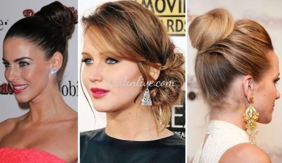 Topuz Saç Modelleri 2016 Trendleri