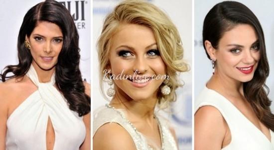 Yandan Ayrılmış Saç Modelleri 2016 Trendleri