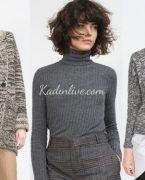 Sonbahar Kış Zara Kazak ve Hırka Modelleri 2018-2019