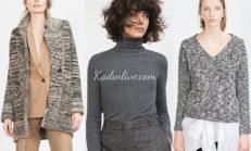 Zara 2016 Kazak ve Hırka Modelleri
