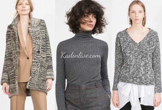05750e96edb9d 2018-2019 yeni sezon kazak ve hırka modelleri, Zara kış kadın  koleksiyonunda yeni trendleri keşfetmeniz için sizleri bekliyor.
