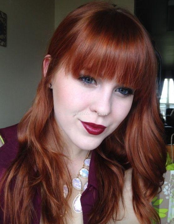 Koyu Bakır Saç Rengi ve Modelleri