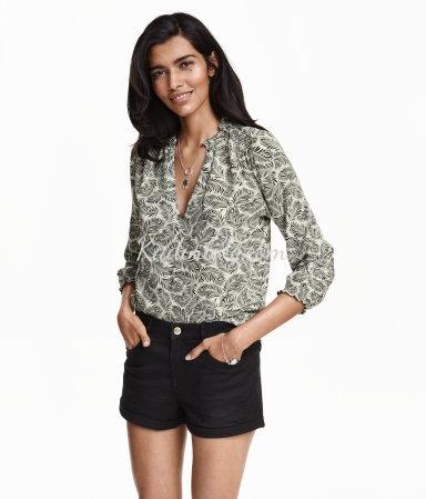 H&M Jorjet Bluz Modelleri Yeni Sezon