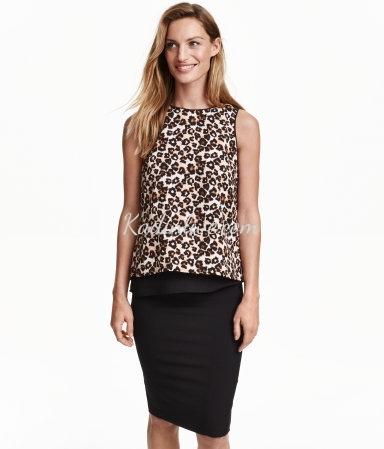 H&M Kolsuz Şifon Bluz Modelleri