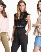 İlkbahar Yaz Modası: H&M Bluz Modelleri 2018-2019
