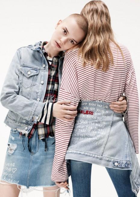 Zara İlkbahar Yaz Denim Jean Kot Ceket Modelleri