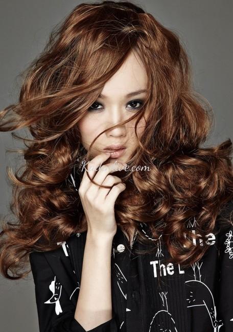 Esmer Tene Yakışan Orta Kahverengi Saç Renkleri