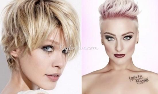 Kısa Saç Modelleri Yeni 2016
