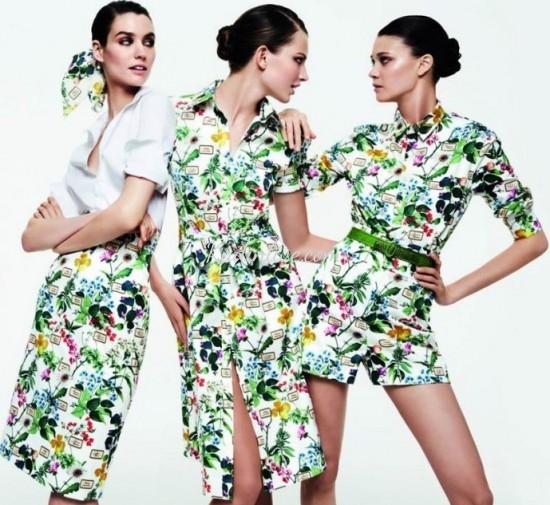 Çiçekli Günlük Kıyafet Kombinleri