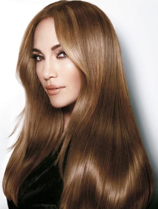 Fındık Kabuğu Işıltılı Saç Renkleri