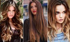 Gölgeli Saç Modelleri