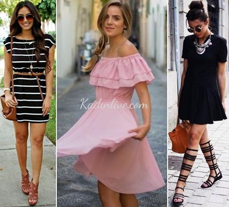 Günlük Tek Parça Elbise Kombinleri