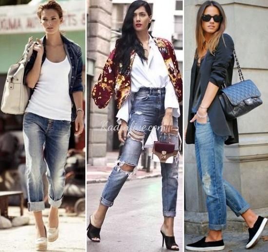 Jean Kıyafet Günlük Kombinleri