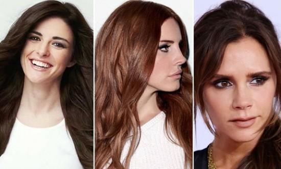 Kestane Saç Renkleri ve Trend Saç Modelleri