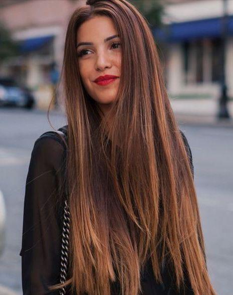 Koyu Balyajlı Gölgeli Saç Modelleri Kadinlivecom
