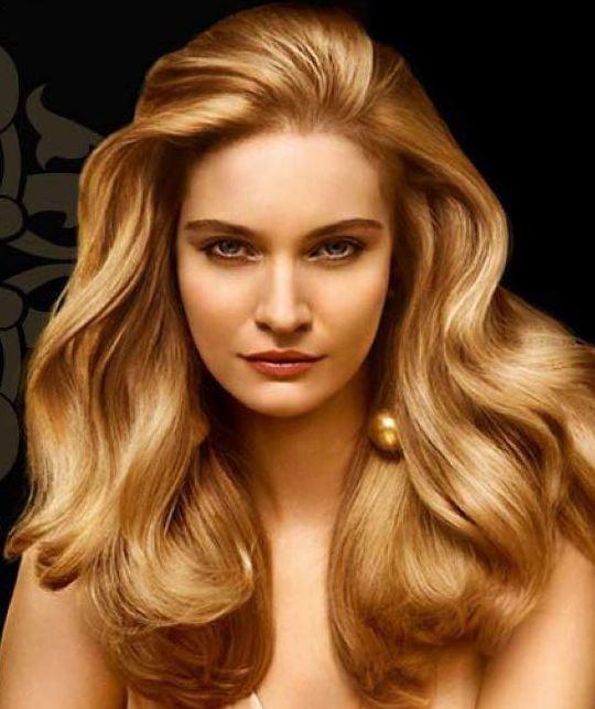 Parlak Altın Sarısı Saç Rengi ve Modelleri