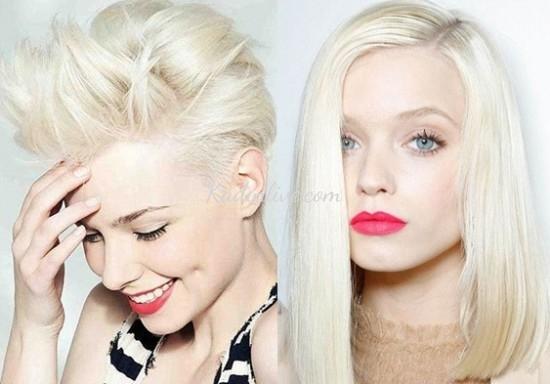 Platin Saç Boyası Platin Sarısı Saç Nasıl Elde Edilir Kadinlivecom
