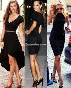Siyah Elbise Nasıl Kombin Yapılır?