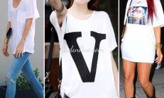 Beyaz Tişört Nasıl Kombin Yapılır?