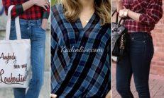 Kareli Gömlek Nasıl Kombin Yapılır?
