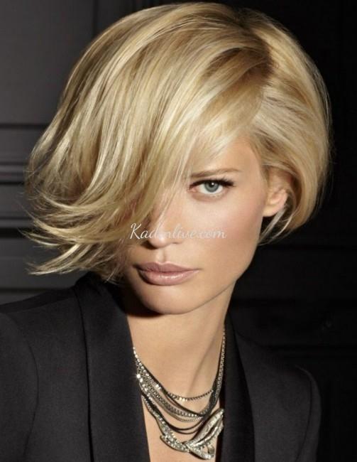 Farklı Stil Kahküllü Kısa Saç Kesimi ve Saç Modelleri