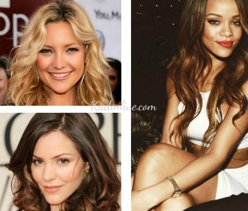 Üçgen Yüze Uygun Saç Modelleri