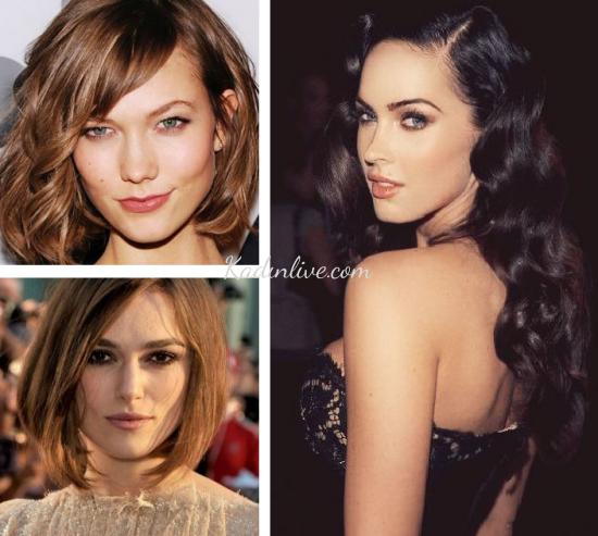 Oval Yüze Uygun Saç Modelleri