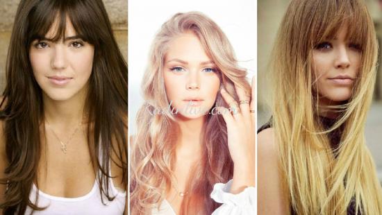 Uzun Yüze Uygun Saç Modelleri